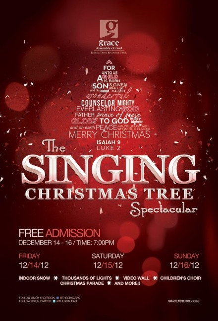 The Singing Christmas Tree Spectacular